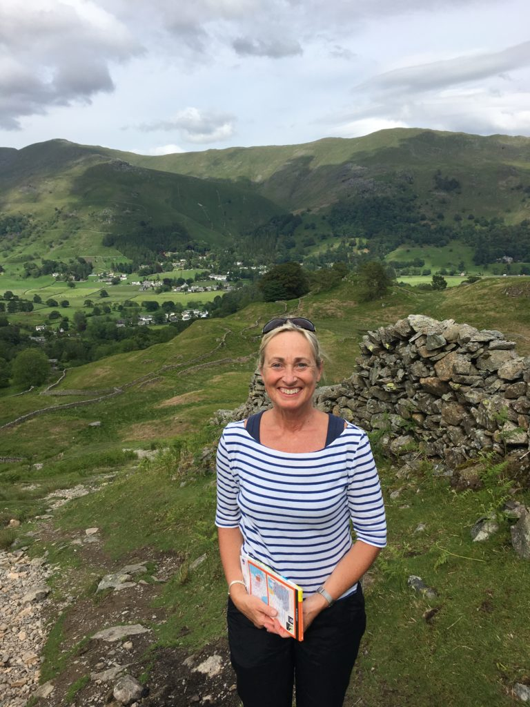 Jackie in Lake District
